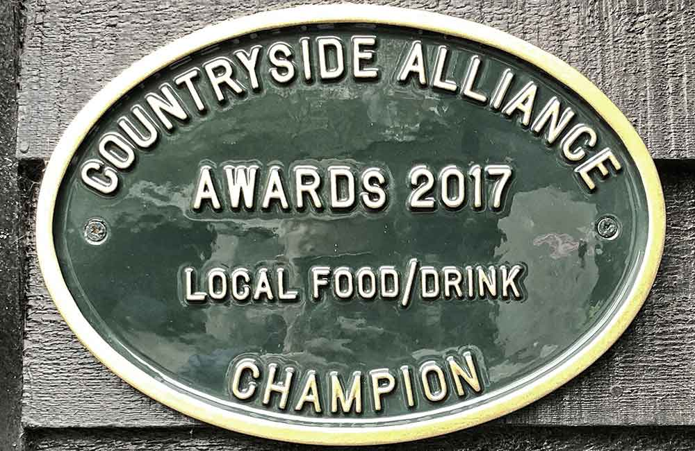 Countryside Alliance Local Food and Drink Champion 2017