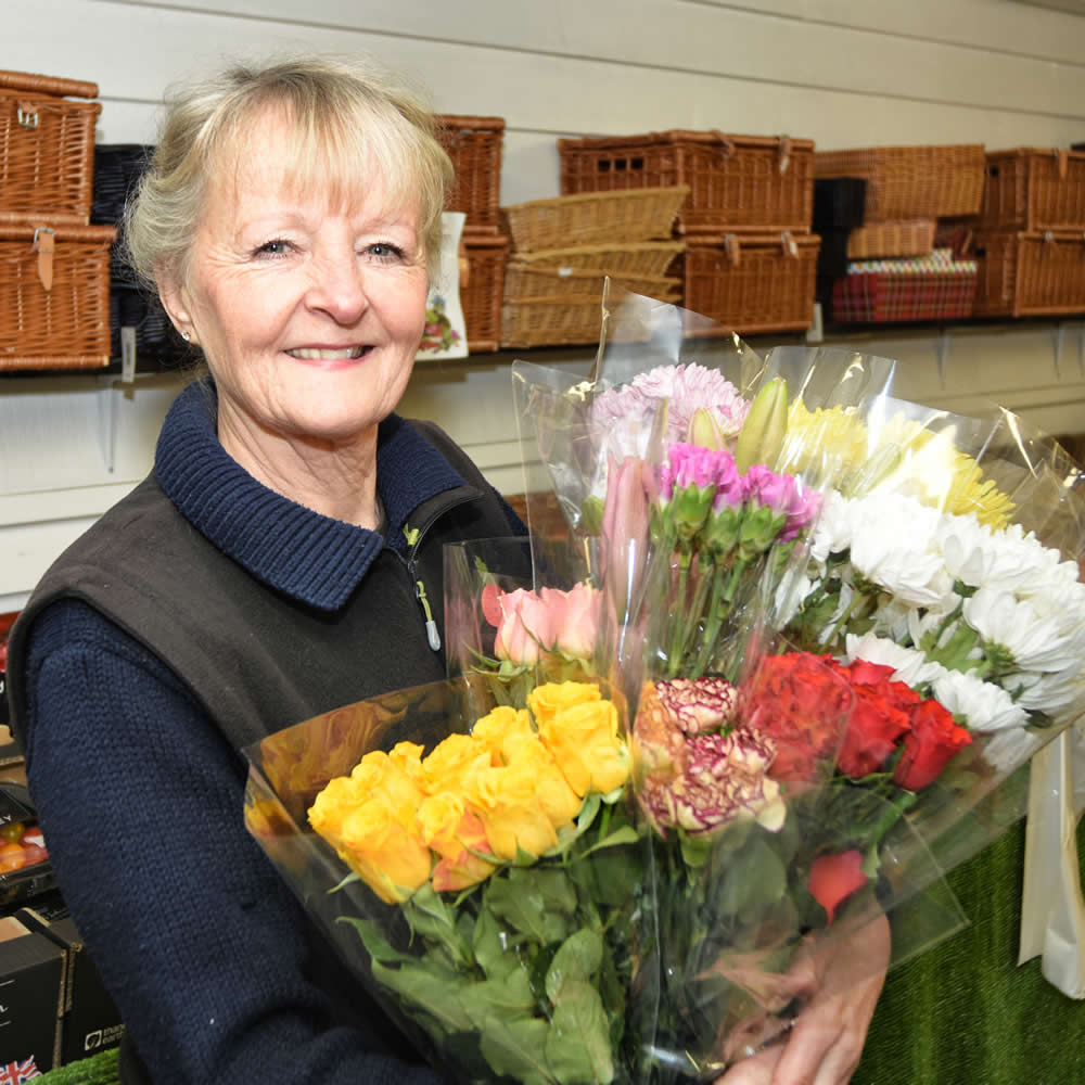 Fruit, Vegetables and Flowers at Quex Barn Farm Shop